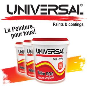 la marque universal inoda peintures particuliers et professionnels au cameroun. Black Bedroom Furniture Sets. Home Design Ideas